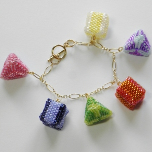 How to size a bracelet, chain style, Katie Dean, My World of Beads