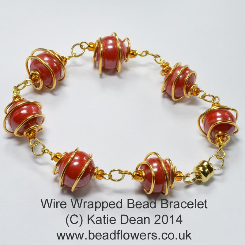 Making Jewellery - My World of Beads - Katie Dean