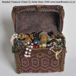little beaded boxes