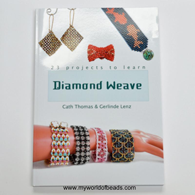 Diamond Weave - My World of Beads - Katie Dean