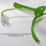 french beaded flower tutorials