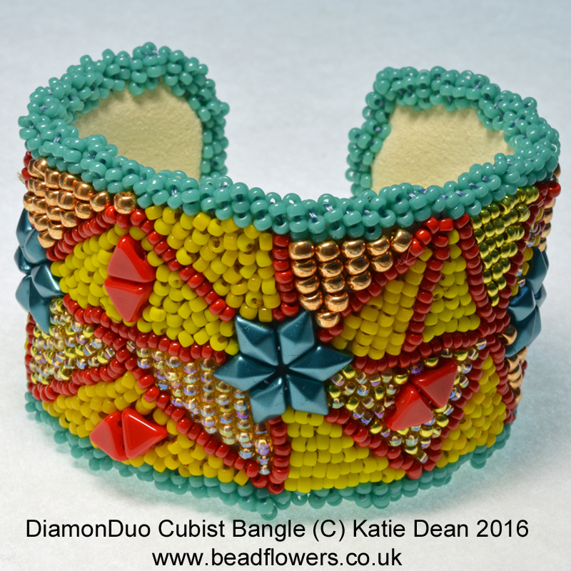 Bead Embroidery My World Of Beads Katie Dean