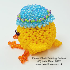 Easter Beading Projects: Chick