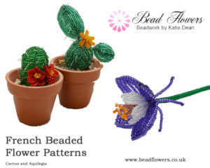Working with wire: French beaded flowers