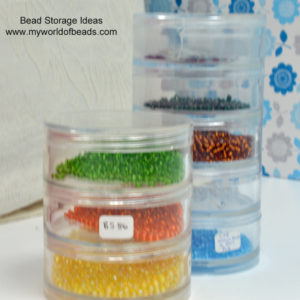 Bead Storage Ideas, My World of Beads