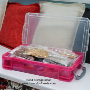 Bead storage and organisation, my world of beads