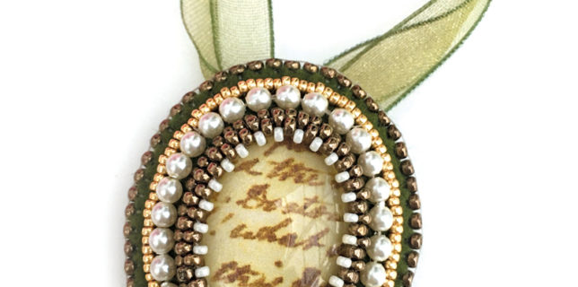 Jane Austen Beading Kit, Chloe Menage, Pinkhot Jewellery, Featured on My World of Beads